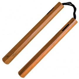 Nunchaku en bois à corde