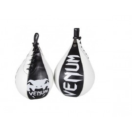 "Poire de vitesse Venum ""Speed Bag"" - Black/White"