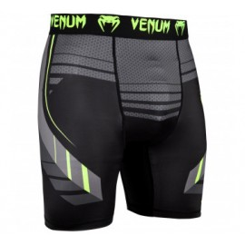 SHORT DE COMPRESSION VENUM ROOSTER - BLEU MARINE/ORANGE
