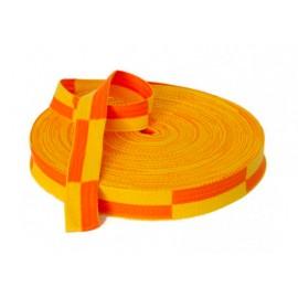 Ceinture jaune Orange
